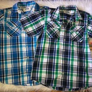 Urban Pipeline short sleeve buttoned shirts